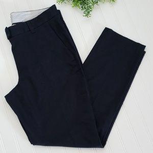 Brooks Brothers Navy Blue High Rise Pants sz 8